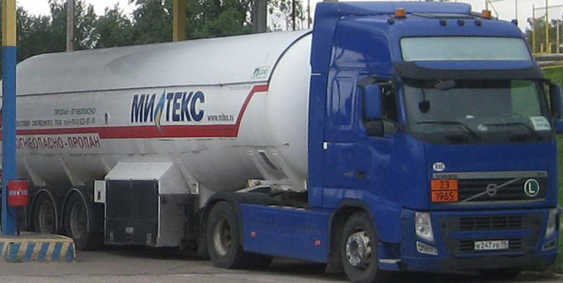 Доставка газа в СПб