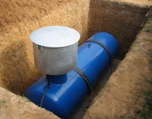установка газгольдера