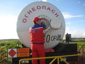 Доставка газа пропан-бутан