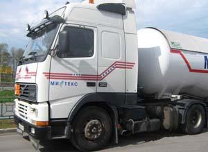 Доставка газа пропан от 40 до 95%