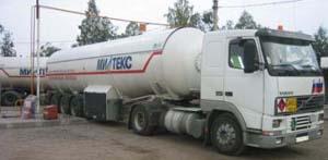 Доставка газа пропан бутан