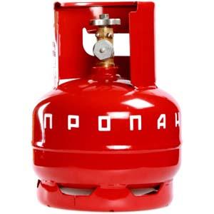 Баллон газовый металлический 5 литров цена в СПб.