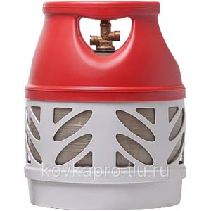 Баллон газовый композитный Ragasko 12,5 литров цена в СПб.