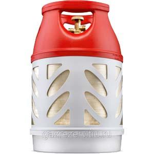 Баллон газовый композитный Ragasko 18,2 литра цена в СПб.