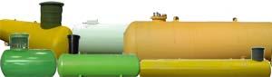 Типы емкостей под сжиженный газ