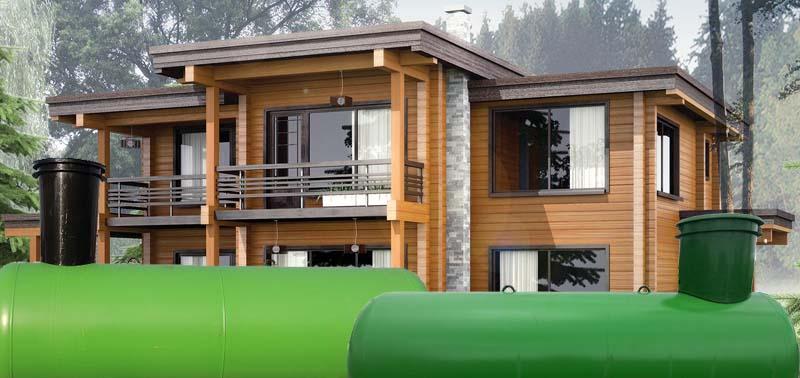 Газгольдер для частного загородного дома цена СПб