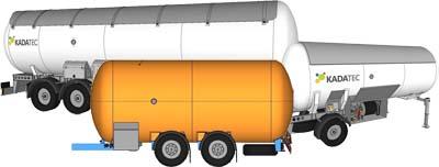 автоцистерны для перевозки сжиженных газов