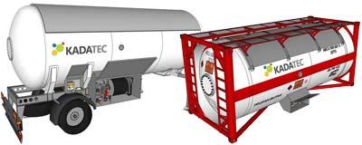 Емкости для перевозки газа