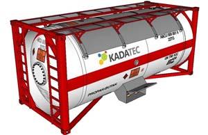 ISO-контейнер и емкость для перевозки сжиженного газа