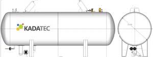 Надземный газгольдер для АГЗС
