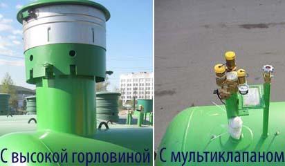 подземный газгольдер для заболоченной местности купить