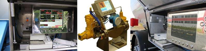 Расходомер газовый для автоцистерны