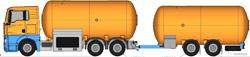 автоцистерны для перевозки газа