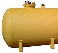 Газгольдеры с люком 500 мм.