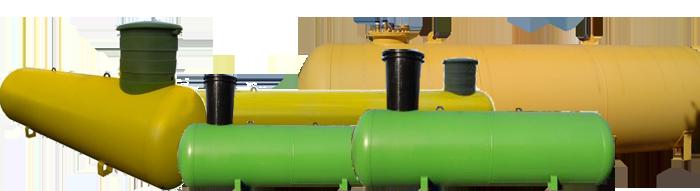Резервуары для хранения сжиженного газа подземные Спб