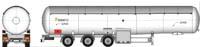 Автоцистерна KD2-119-L002 65 м3 для доставки сжиженных газов