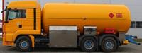Автоцистерна 25 м³ со спец оборудованием