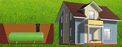 Подземный газгольдер для автономной газификации