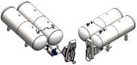 Модульная АГЗС 2*4,8м3 в наземном исполнении