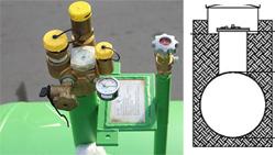 Газгольдеры с мультиклапаном