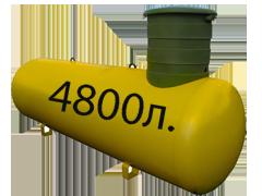 Газгольдер подземный 4,8 м3 «Стандарт».