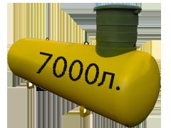 Газгольдер подземный 7 м3 «Стандарт».