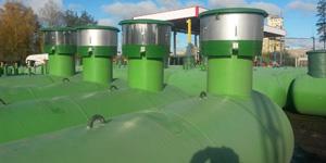 Подземный газгольдер евро-стандарт