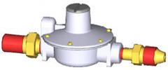 Одноступенчатый регулятор давления RJ125-B, тип соеденения RJ125-3.
