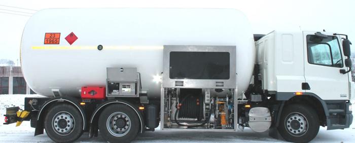 Автоцистерна 29 М³  со спец оборудованием для частичного слива цена в СПб