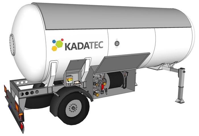 LPG ПОЛУПРИЦЕП 28 M³ без тягача, со спец оборудованием для частичного слива цена в СПб