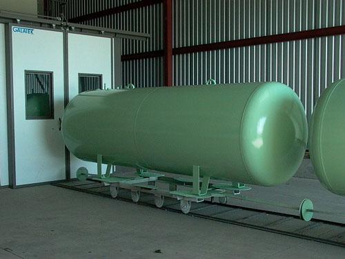 Газгольдер 4,8 м3  надземный.