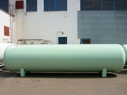 Газгольдер 6400 литров  надземный.