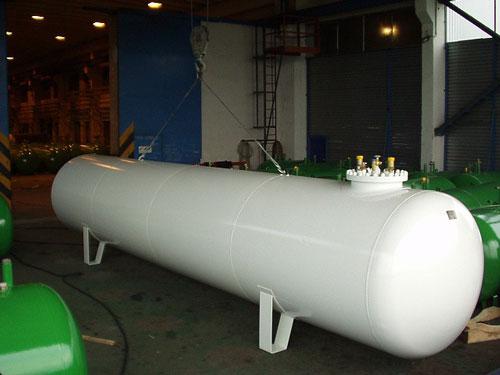 Газгольдер 9,1 м3 надземный.