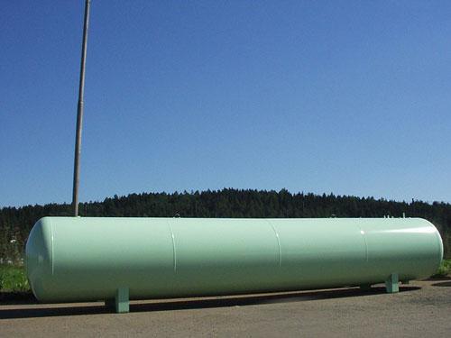 Газгольдер надземный 10 м3.