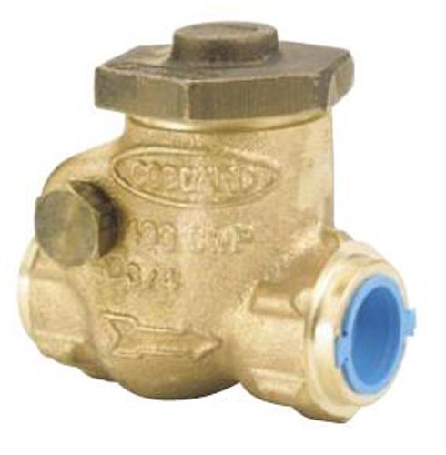 Бронзовый поворотный обратный клапан Goddard Серия 840, 25 mm цена в СПб
