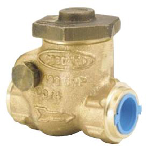 Бронзовый поворотный обратный клапан Goddard Серия 840, 50 mm цена в СПб