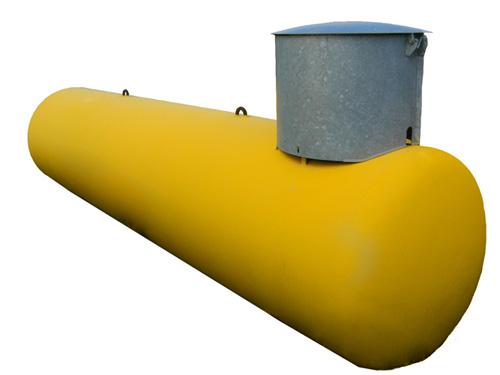 Газгольдер подземный 6,4 м3 «Стандарт»  цена в СПб
