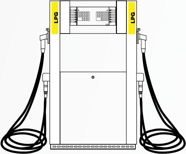 ТРК ADAST V-LINE 8992/LPG/40 цена в СПб