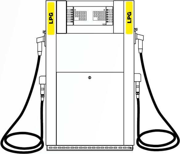 ТРК ADAST V-LINE 8993/LPG/40 цена в СПб