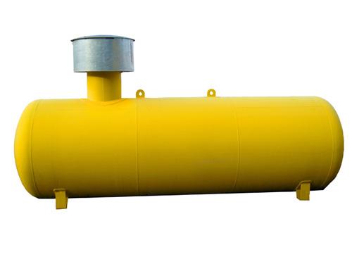 Газгольдер подземный 10 м3 двустенный d=1600 мм.