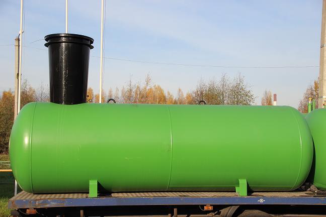 Газгольдер подземный 6,4 м3 с мультиклапаном.