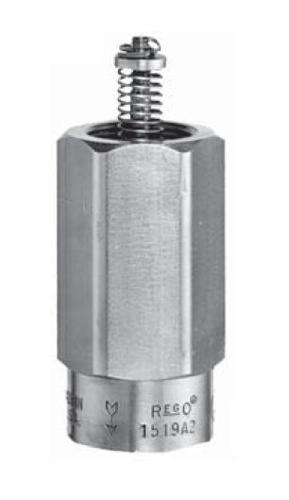 """Переливной клапан REGO Серия 1519A2, 1"""" цена в СПб"""