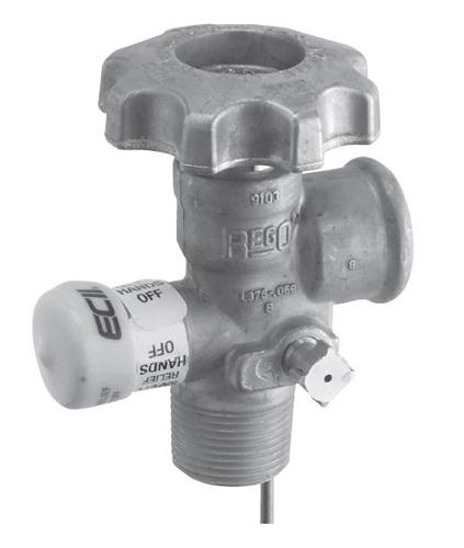 Клапан для отвода паров REGO Серия 9103D, 3/4 NGT цена в СПб