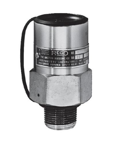Внешний редукционный клапан REGO Серия AA3135, 1 1/4 NPT цена в СПб