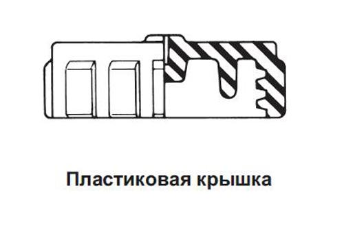 Крышка с цепью и кольцом REGO Серия 3144, 1 1/4, ACME цена в СПб