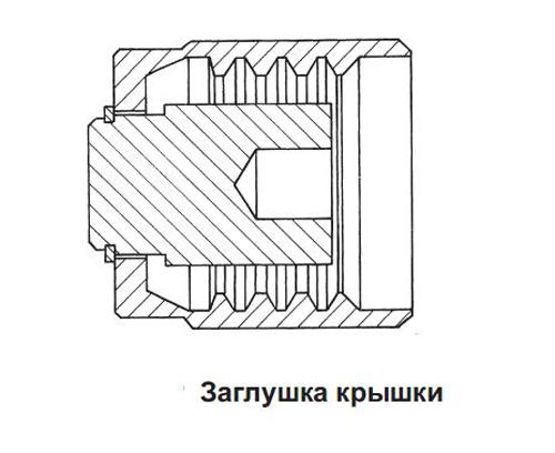 Крышка с цепью и кольцом REGO Серия 7141, 1 1/4, ACME цена в СПб