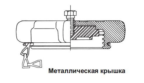 Крышка с цепью и кольцом REGO Серия 3184, 2 1/4, ACME цена в СПб