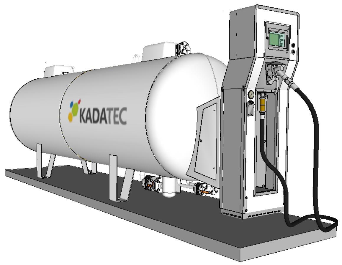 Модульная АГЗС с емкостью 4,8 м3 в надземном исполнении цена в СПб