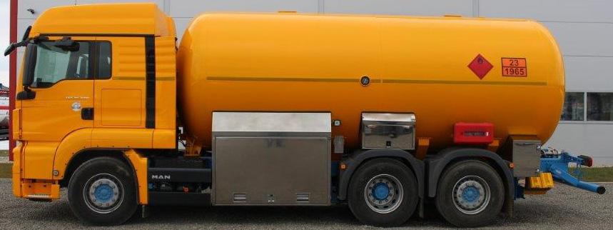 Автоцистерна 25 м³ со спец оборудованием цена в СПб